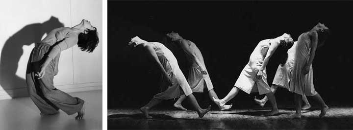 Probefoto (links): Peter Schelling; Aufführung (rechts): Johannes Knoth