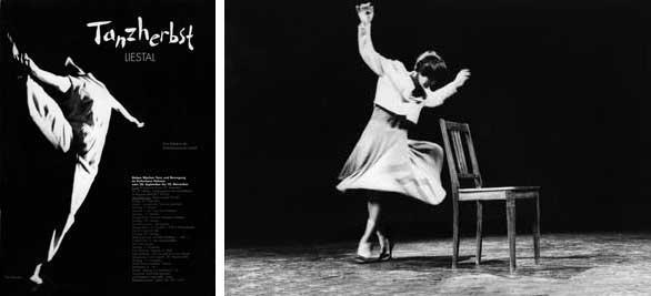 Bilder links: Peter Schelling; rechts: Gertrud Vogler Mehr Infos im Online-Katalog Schweizer Tanzarchiv